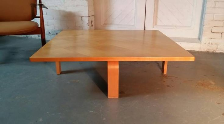 Rare Poul Kjaerholm PK66 Coffee Table | From a unique collection of antique and modern coffee and cocktail tables at https://www.1stdibs.com/furniture/tables/coffee-tables-cocktail-tables/