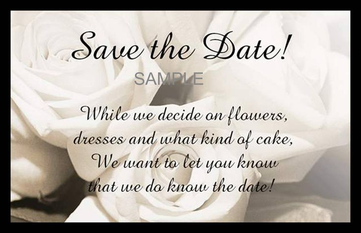 Funny Wedding Invite Poems: 25+ Best Ideas About Save The Date Wording On Pinterest