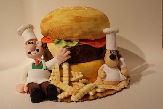Hamburger Cake 11