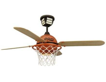 What a cool ceiling fan! Thunder up!
