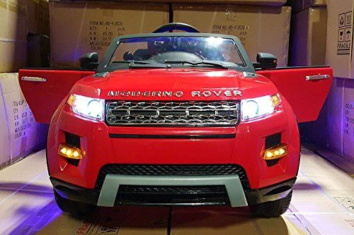 2016 Range Rover Style Power Wheels for Kids 12V Engine with Parent Remote Control UV Lights|Leather Seat|MP3