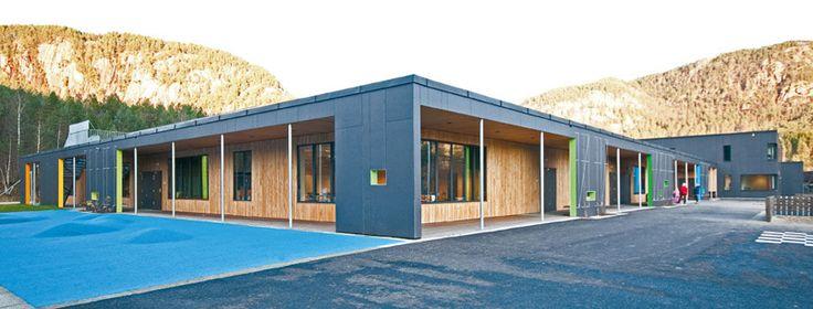 Byggeprosjekt — Tonstad skule og bad