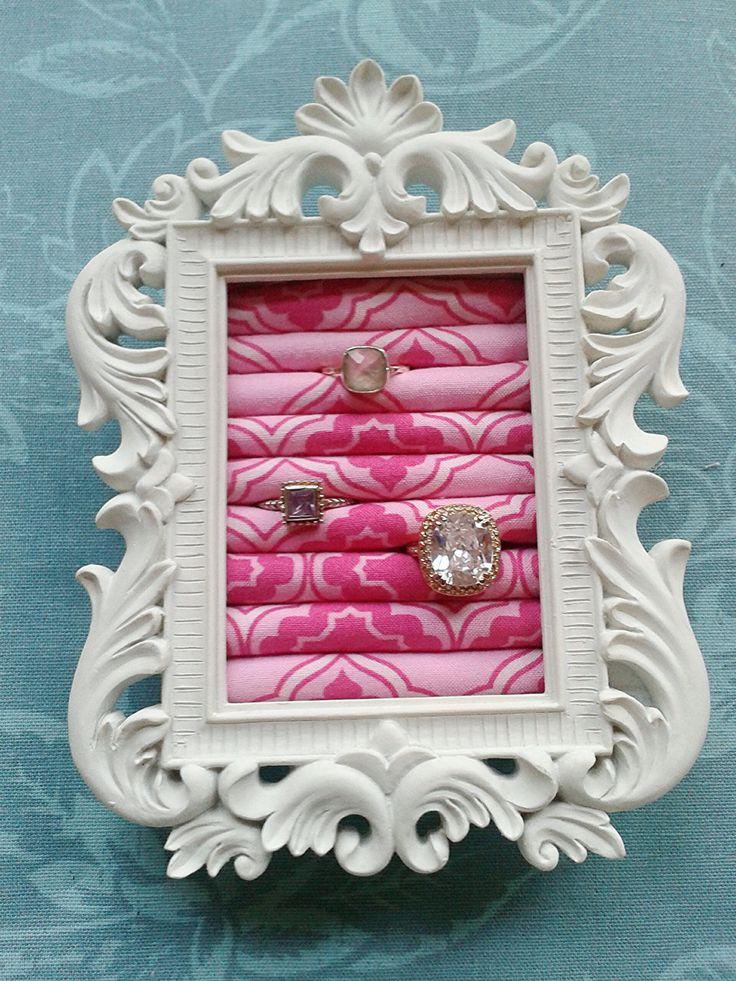 Princess Small  Ring Organizer ... DIY decor inspiration,  ring storage / display
