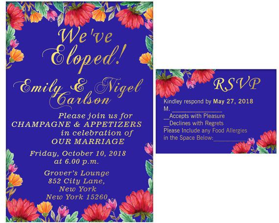 Hey, I found this really awesome Etsy listing at https://www.etsy.com/listing/519507597/elopement-party-invitation-and-rsvp