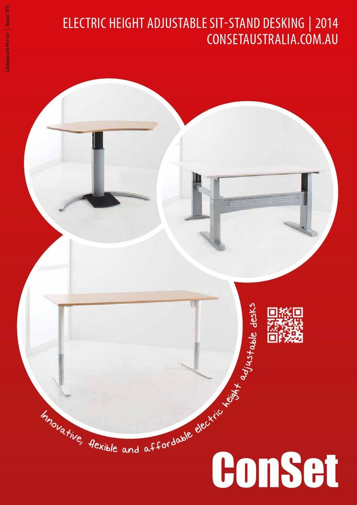 Melbourne Office Solutions - Conset Range  Sit Stand Desk