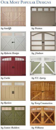 Carriage Garage Doors Amarr Designs