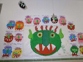 BIBLIOTECA DE ROQUI: Poesías de Miedo: Proyecto Monstruos en Educación Infantil