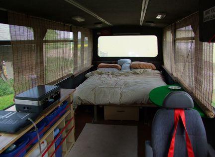 short bus camper conversion | Bus camper, School bus rv ...