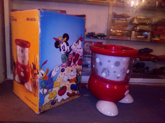 edison39.nl #Garageverkoop #Eindhoven #040 #Vintage #Antiek #Kunst #Design: Disney / Ariete - ice cream maker