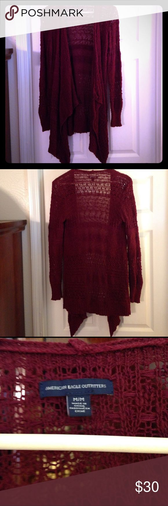 American Eagle Outfitters Cardigan. Very cute staple piece for any wardrobe! So comfortable! Stylish & right on trend for your favorite dress or complete your favorite outfit😍No trades. 0507 American Eagle Outfitters Sweaters Cardigans