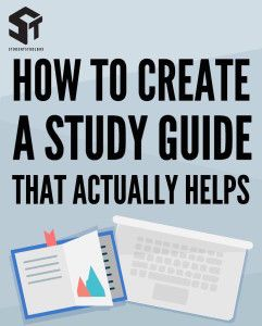 How to Create a Study Guide that Actually Helps – Students Toolbox