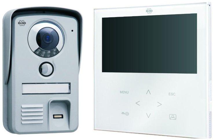 Elro VD71F Video-Türsprechanlage mit Fingerabdruckscanner Test | Türsprechanlage
