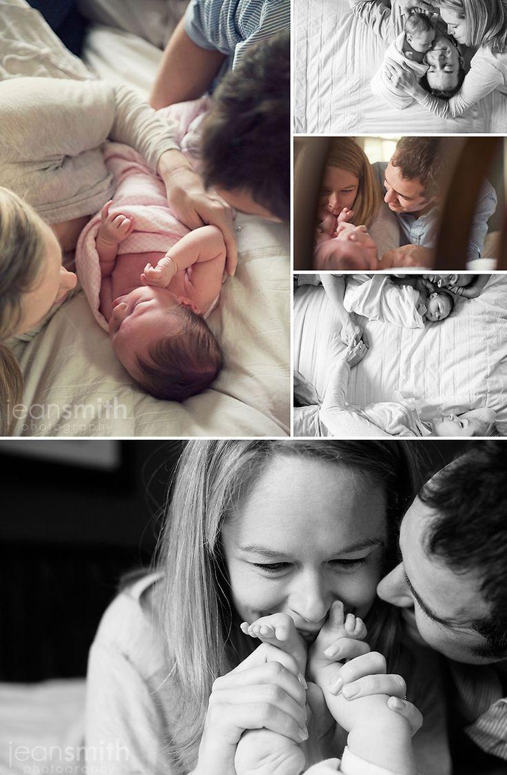 beautiful lifestyle newborn session ©Jean Smith Photography