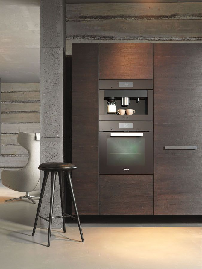 Miele presents New 'PureLine' and 'ContourLine' - On show at @imm cologne from traditional to puristic #kitchen