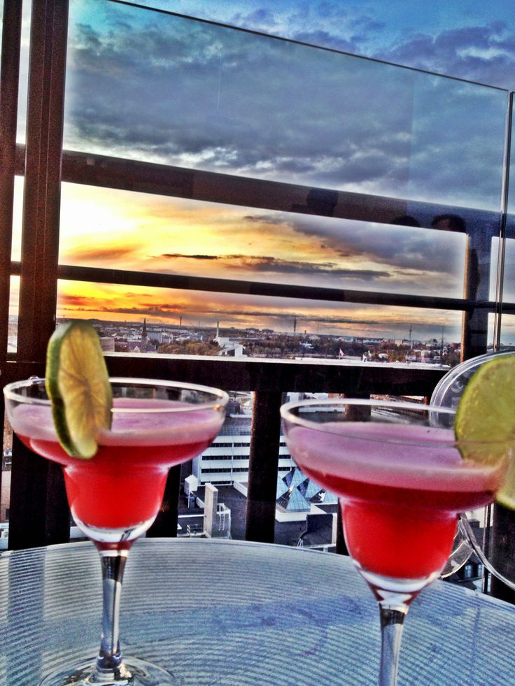 Coctails and best view over the city - Atlelje Bar, Hotel Torni