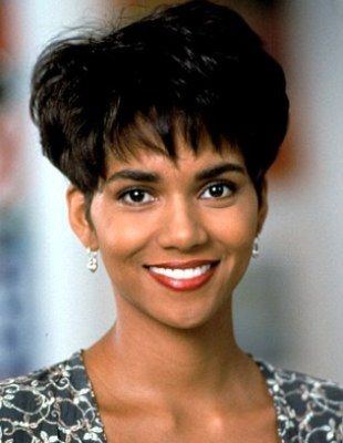 A young & Beautiful Halle Berry