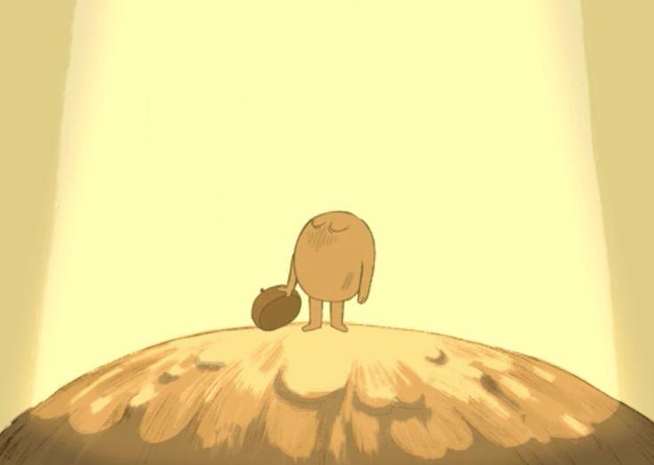 J'ai adoré le message que nous transmet ce dessin animé . Oui, la vieest jonchée de difficultés. Mais elles disparaissent à force de persévérance. Et nous grandissons à chacune de nos erreurs.