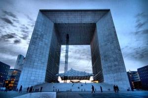 Grand Arche de La Defense, Paris, France