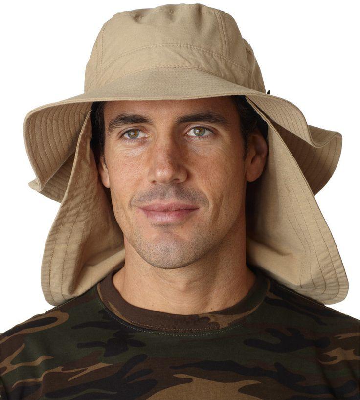 extreme vacationer bucket cap - khaki (l)