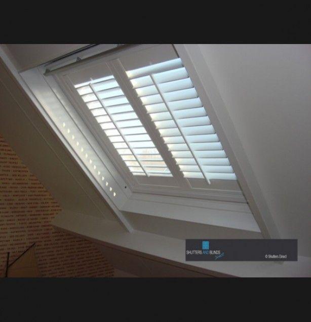 shutters voor schuine ramen