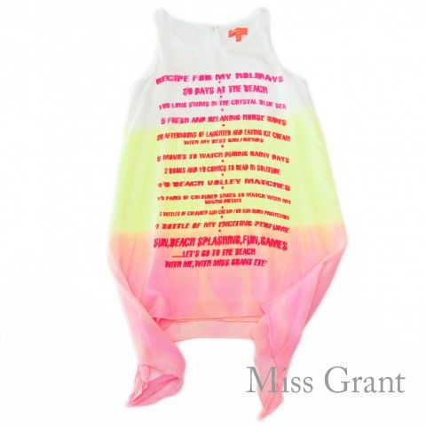 #missgrant GRADIENT COLORS DRESS. Sale 50% off Spring&Summer Collection! #discount