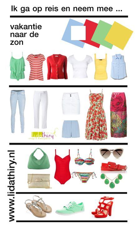 Ik ga op reis en neem in mijn koffer mee ... | www.lidathiry.nl | voor meer tips klik op de foto