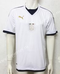 2017-18 Italy Away White Thailand Soccer Jersey