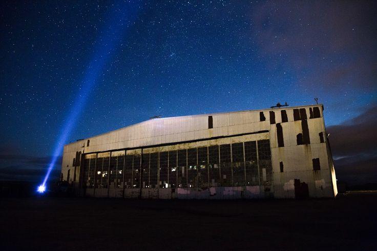 Abandoned Hangar in Stephenville, NL