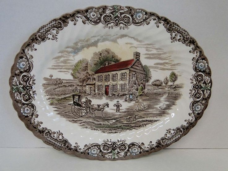 Johnson Brothers - HERITAGE HALL & 43 best Johnson Brothers Porcelain images on Pinterest | Johnson ...