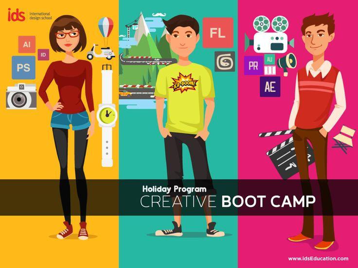 Isi liburan sekolahmu dengan kegiatan yang kreatif. Mau jadi Designer? Animator? FilmMaker? Yuk liburan kreatif bersama IDS. Info lengkap: http://bit.ly/LiburanKreatif_IDS   Daftar sekarang di: 021-7980180 / 085697715636  #liburankreatif #holidayprogram #creativebootcamp #ids www.idseducation.com