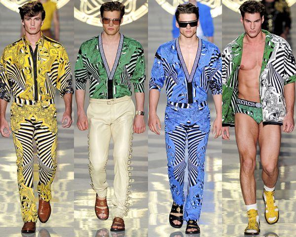 Menswear Spring 2012 Trends: Wild Prints | Tom & Lorenzo