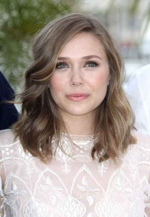 Elizabeth Olsen light ash brown