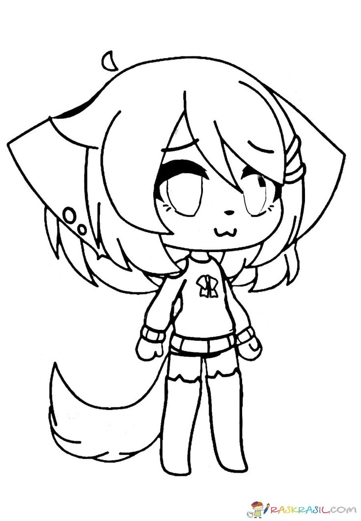 Gacha Life Coloring Pages. Unique Collection. Print for ...