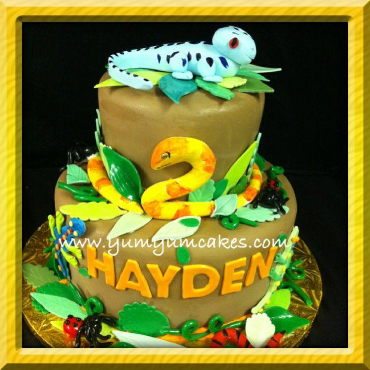 Snake Birthday Cake Images
