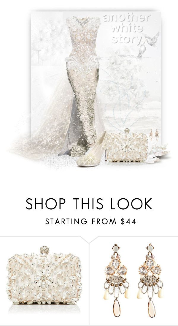 """""""Another White Story!"""" by sherri-2locos ❤ liked on Polyvore featuring Jean-Paul Gaultier, Forever New and Tataborello"""