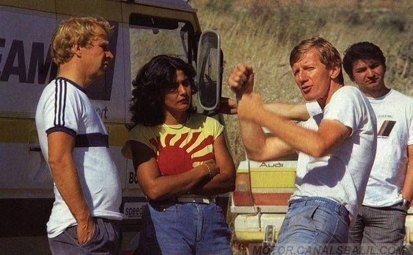 Mikkola, Mouton, Röhrl e Gheistorfer