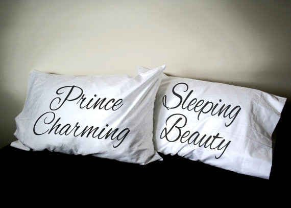 These fairy tale pillow cases.