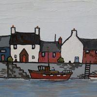 """Near Conwy by David Barnes, 12"""" x 10"""""""