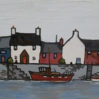 "Near Conwy by David Barnes, 12"" x 10"""