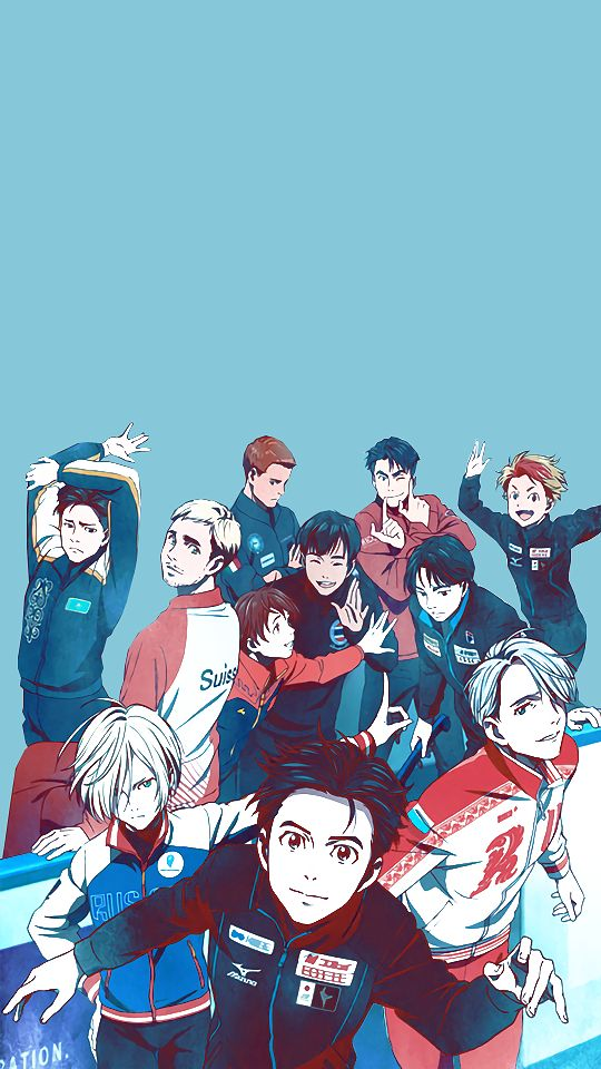 Image result for yuri on ice wallpaper