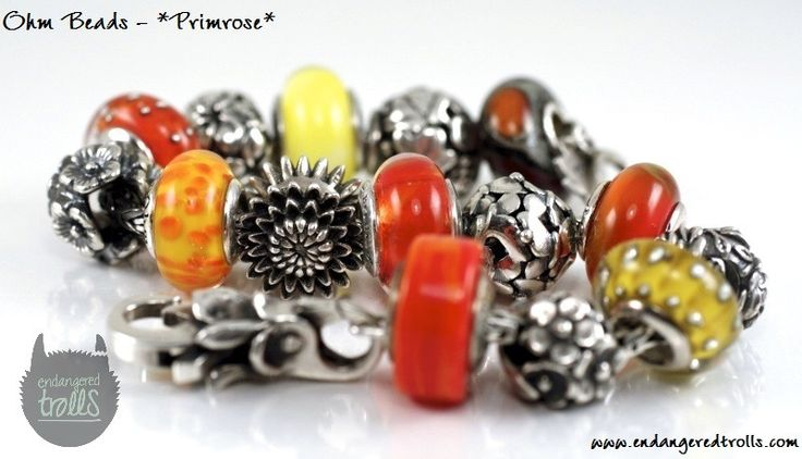 Ohm Beads Limited Edition Primrose (Spring Flowers 2013)