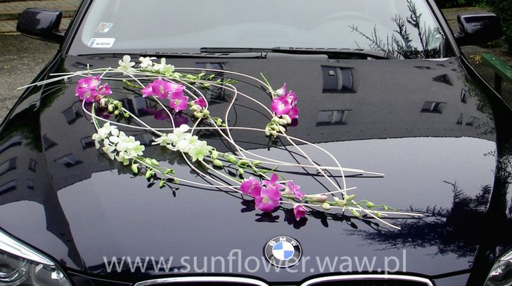 wedding car decoration, wedding car