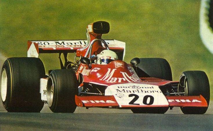 Arturo Merzario - 1974 - US GP Watkins Glen - Frank Williams Racing Cars - Iso Marlboro FW