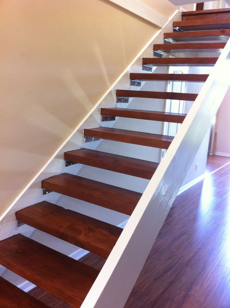 25 best ideas about floating stairs on pinterest modern Floating stairs