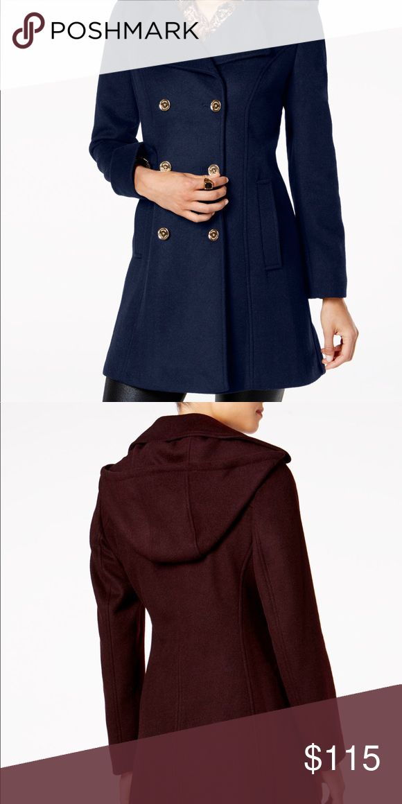 """SALE! Michael Kors Double Breasted Peacoat Only worn a few times. Color is Navy. Great Condition. Double Breasted Pea Coat. Hits at thigh. Approximately 34"""" Long. Moving at the end of this month! MAKE ME AN OFFER! KORS Michael Kors Jackets & Coats"""