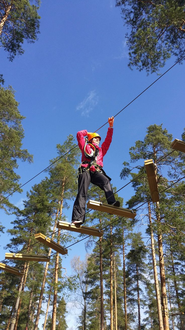 Flowpark, a tree-top adventure, Vierumäki