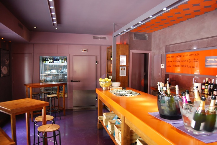 Gouthier, oyster bar, barcelona