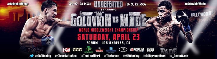 Check out Potshot Boxing's (PSB) latest boxing poll regarding the upcoming IBF, WBA & interim WBC middleweight title fight between Gennady 'GGG' Golovkin and Dominic Wade! http://www.potshotboxing.com/can-dominic-wade-upset-gennady-golovkin/
