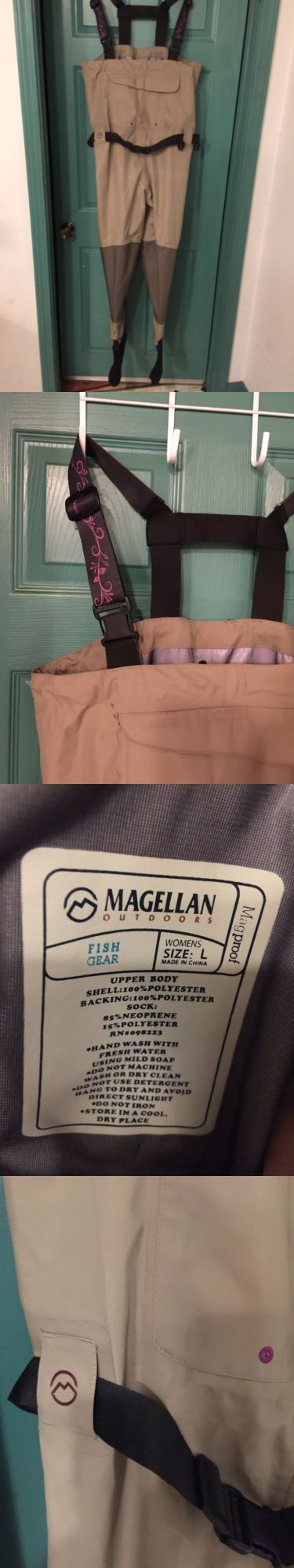 Waders 179984: Magellan Outdoors Fish Gear Stoking Foot Wader Women S Size Large -> BUY IT NOW ONLY: $69.95 on eBay!