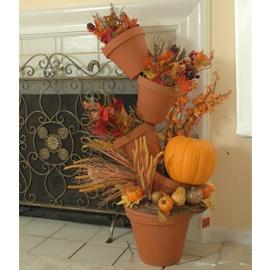 Autumn Flower Pot